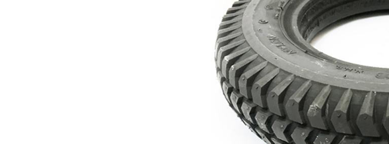 Desgaste neumáticos sillas de ruedas
