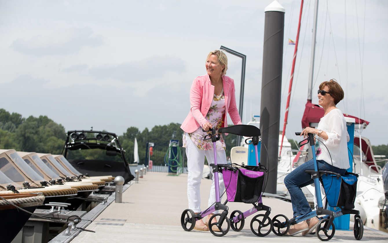 7 modelos de andadores Gemino que favorecen la movilidad de personas mayores