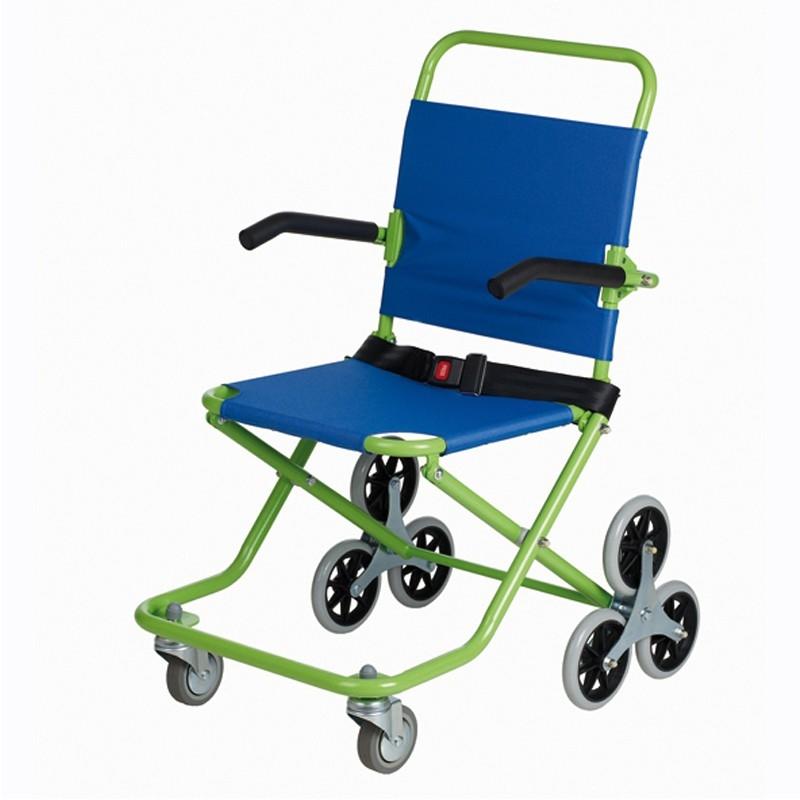 silla de ruedas subir escaleras