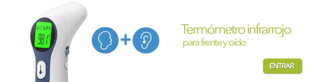 Termómetro Infrarrojo frente y oído