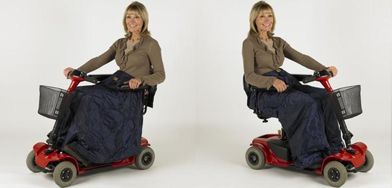 Manta para scooter eléctrico