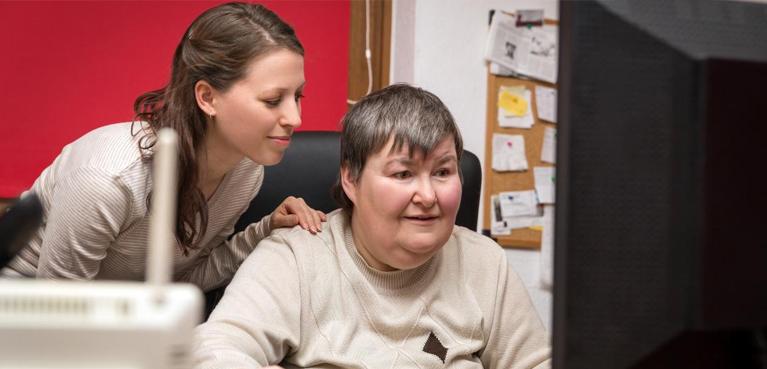 Personas con discapacidad en casa