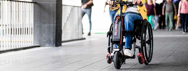 Handbike eléctrica para silla de ruedas Sunrise Medical