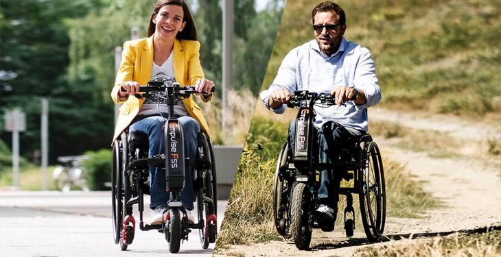 Empulse F55, el nuevo handbike eléctrico para silla de ruedas de Sunrise Medical