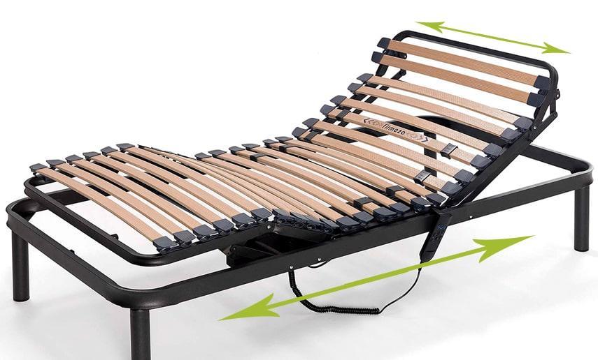 C mo elegir una cama articulada ortopedia online for Cuales son las medidas de las camas