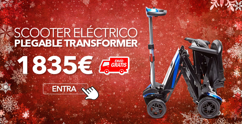 Scooter Eléctrico Plegable Transformer