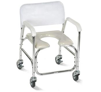 Silla para ducha y wc asiento en u for Sillas para duchar ancianos