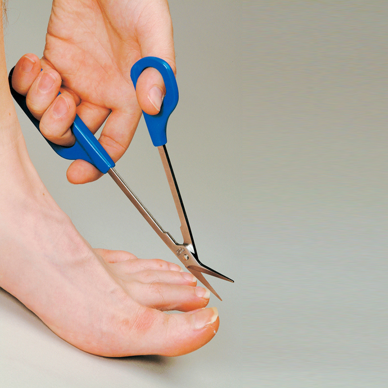 Tijeras de pedicura adaptadas